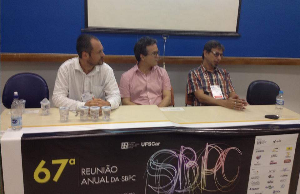 Rede Biotecmar no SBPC2015