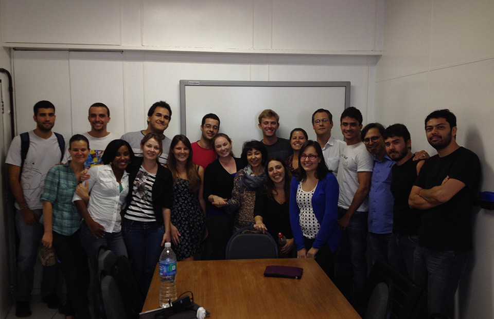 SIO-UCSD-SDSU Students in UFRJ Aug 2014